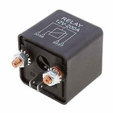 200A 12V SPLIT CHARGE RELAY 160477 0-727-10 EQUIVALENT HEAVY DUTY ON/OFF SWTICH