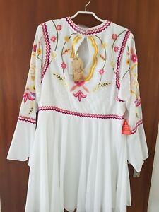 Design Kleid von Frock and Frill Collection  Gr. 48  sehr edel. Np 229€ in weiß