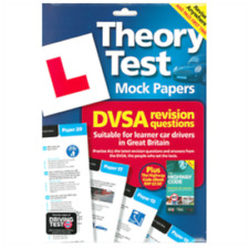 THEORY TEST MOCK PAPERS DVSA DSA DVLA REVISION QUESTIONS