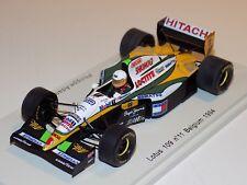 1/43 Spark F1 Lotus 109 car #11 Belgium Grand Prix 1994 Philippe Adams S1679