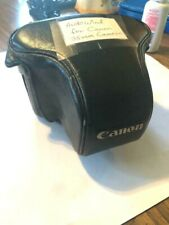 """Canon"" 35mm Leather Camera Case w/Auto Wind (Power Winder A)"