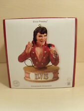 NEW Carlton Heirloom 2007 Ornament ELVIS PRESLEY Can't Stop Loving You Sound 2nd