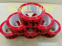 36x Sticky Fragile Packing Tape Packaging Tape 45 Micron Adhesive Tape 48mmx75M