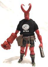 KC-HB-T-PBK: Black Printed BPRD Logo T-Shirt for 1000Toys Hellboy (No Figure)