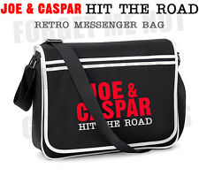 Joe & Caspar Hit The Road Retro Messenger Bag Vlogger Joe Sugg, Caspar Lee
