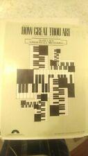 arr Mark Laub: How Great Thou Art; organ (Columbia)