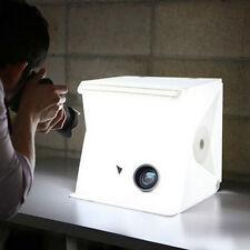 "12"" Folding Lightbox Studio LED Photo Shoot Box for Smartphone DSLR Portable"