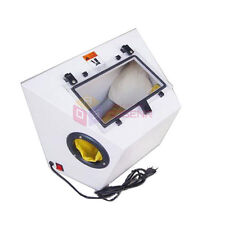 220V Jewelry Mini Sandblasting Dental Tools Portable Sand Blasting Machine