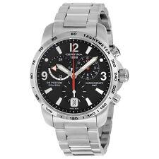 Certina DS Podium GMT Black Dial Stainless Steel Mens Quartz Watch