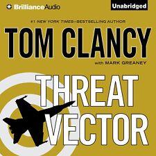 Jack Ryan: Threat Vector by Tom Clancy (2012, CD, Unabridged)