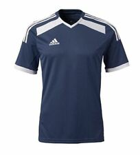 NEW Adidas Youth ClimaCool Regista 14 Soccer Jersey Shirt SLIM LARGE Blue/White