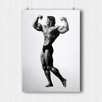 Arnold Schwarzenegger Body Building POSTER PRINT AS1 A4 A3 BUY 2 GET 1 FREE!