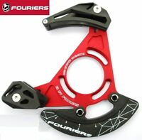 Fouriers bicycle Chain Guide Bash Guards Device CNC 32-38T ISCG03/05 for MTB