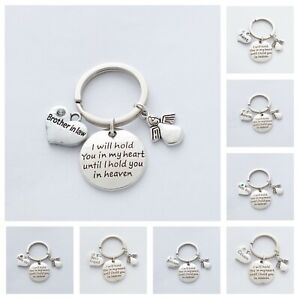 """""""I will hold you in my heart until I hold it you in heaven""""  Memorial - Keepsake"""