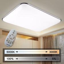 96W Dimmbar LED Ultraslim Deckenleuchte Badleuchte Deckenlampe Flurleuchte