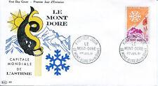 FRANCE FDC - 399 1306 1 LE MONT DORE 1 7 1961