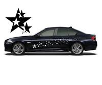 114 Sterne Aufkleber Auto Car 1-Farbig FUN Styling Sticker Design decal 24 #8302