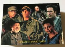 Stargate SG-1  Season 5 Complete 72 Card Trading  Set Used