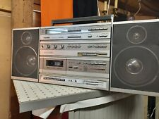 Hübsche Stereo Radio Kassetten Recorder Ghettoblaster Telefunken HP 800, Vintage