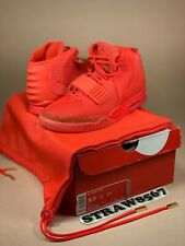DS NIKE AIR YEEZY 2 RED OCTOBER Size US 8.5 KANYE WEST 508214-660 + Receipt