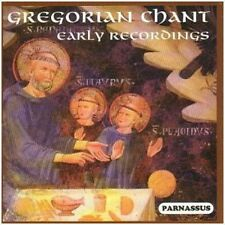 Gregorian Chant Early Recordings (2013, CD NIEUW)2 DISC SET