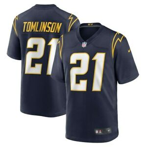 Los Angeles Chargers LaDainian Tomlinson Nike Navy Game Retired Player Jersey