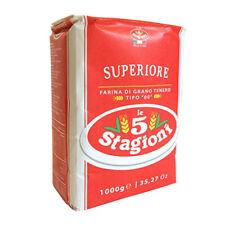 Farina 00 Superiore 5 STAGIONI Pane pizza 1 - 3 - 5 - 10 Kg