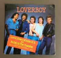 "LOVERBOY - Lovin' Every Minute Of It 7"" Vinyl Record GD+ Australian Pressing"