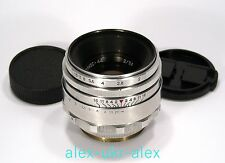 Rare Helios-44 lens M42 mount adapted 2/58 mm 13 blades.№0153829.Exc,CLA