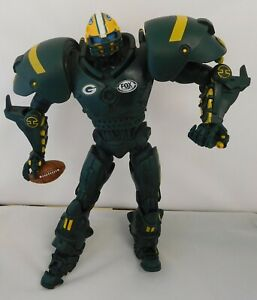 Green Bay Packers Fox Sports Robot Team Cleatus Action Figure Toy 2009 No Box