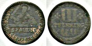 German States 1759 3 Pfennings: St Paulus - Munster Cathedral