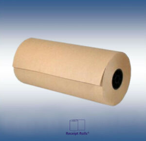 """Void Fill 24"""" x 1200' 30# Brown Kraft Paper Roll for Shipping Wrapping Packing"""