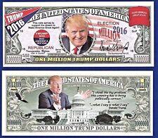(10) Donald Trump, Make America Great Again  Dollar Bills FAKE  Presidential P1