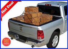 Truck Cargo Net Bed Cover Chevy Silverado 1500 2500 3500 tie down hooks strap HD