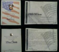 ºoº Disney 9 11 2002 Cast Member Pin 15420 Let Freedom Ring USA Flag Dangle Bell