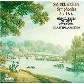 Samuel Wesley: Symphonies 3, 4, 5 & 6 (CD 1991)