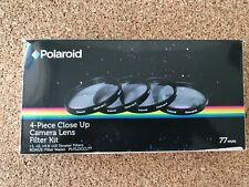 Polaroid Optics 77mm 4 Piece Close Up Filter Set (+1, +2, +4, +10)
