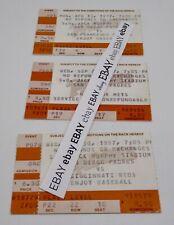 San Diego Padres 1987 Jack Murphy Stadium Ticket LOT of 3