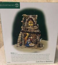 Dept 56 Little Town of Bethlehem Nativity Mary Jesus Stable 2 Pc 59796 New