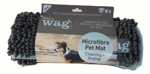 Henry Wag Microfibre Noodle Pet Mat, Quick Drying Mat, Highly Absorbent