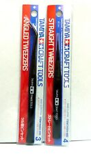 NIP Straight Tweezers for RC /& Plastic Kits Tamiya 74004 Craft Tools