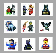 25 Childrens Lego Movie Temporary Tattoos Kids Loot Party Bag Fillers Boys