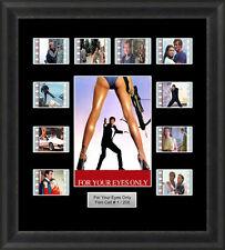 James Bond for Your Eyes only Framed 35mm Film Cell Memorabilia Filmcells Movie