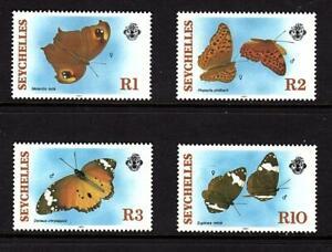 Seychelles 1987 Butterflies Schmetterlinge