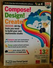 Compose! Design! Create! Multimedia Studio Linux Format Special DVD Tutorial