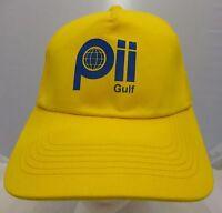 Pii Gulf yellow   cap hat adjustable snapback  NWT