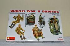 MINIART WORLD WAR II DRIVERS Scala 1:35 cod.35042
