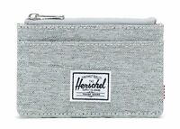 Herschel Oscar RFID Wallet Light Grey Crosshatch