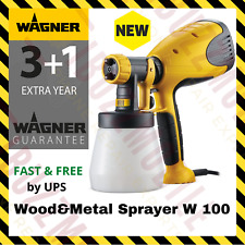 Wagner W 100 Electric Fine Paint Sprayer 280W, Wood & Metal, Interior & Exterior