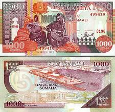 SOMALIA 1000 1,000 SHILLINGS 1996 , UNC- , P-37b